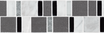 Charcoal Black - Two Row Combo Image